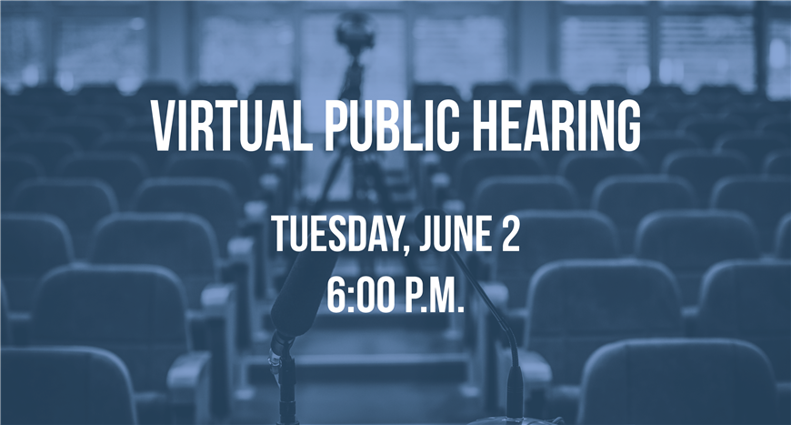 Virtual Public Budget Hearing and BOE Meeting